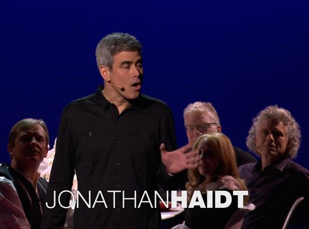 Mám pro vás otázku: jste nábožní? Jonathan Haidt na konferenci TED na téma ego aevoluce