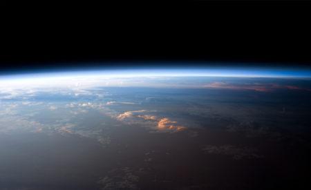 atmosféra z vesmíru