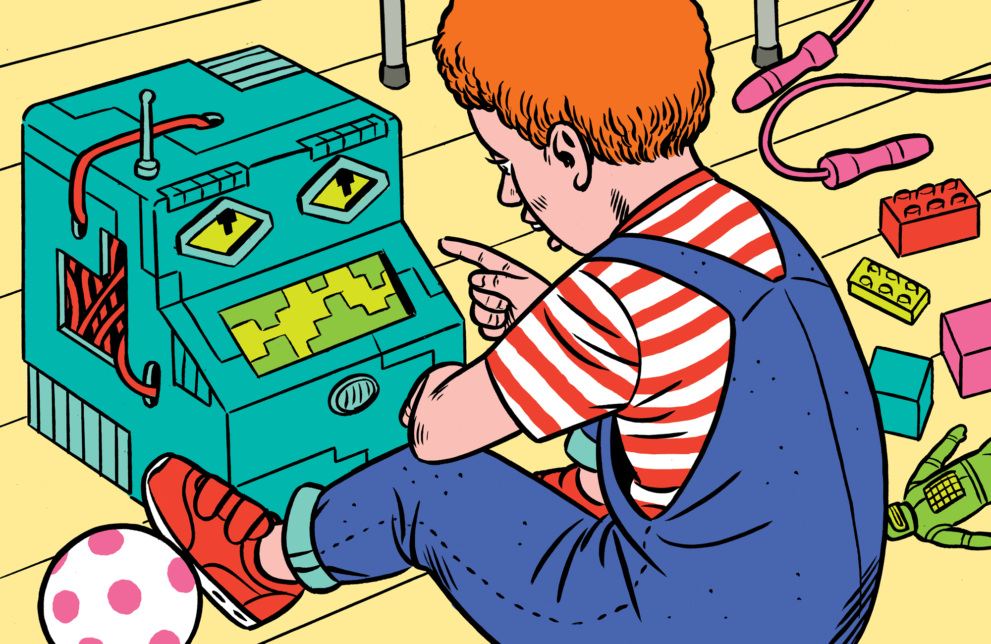 Dětství suměle inteligentní asistentkou