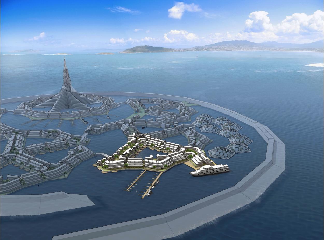 První plovoucí město by se mělo začít stavět vroce 2020