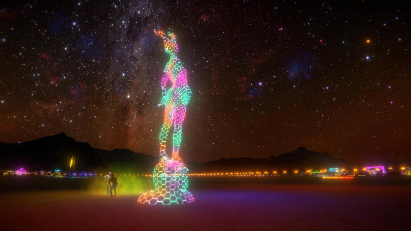 Jak se virtuální Burning Man snaží redefinovat moderní sociální komunikaci